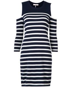 Trina Turk | Cold Shoulder Stripe Dress