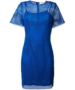 Diane Von Furstenberg | Embroidered Fitted Dress