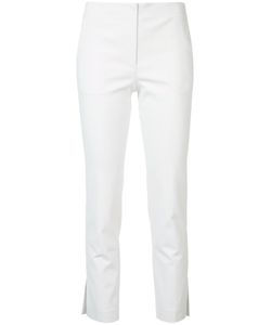 Helmut Lang | Cropped Trousers 2 Cotton/Spandex/Elastane/Acetate