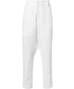 Isabel Benenato | Rear Paint Detail Trousers 48 Cotton