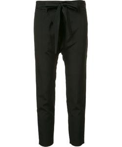 Nili Lotan | Cropped Trousers 2 Viscose/Linen/Flax