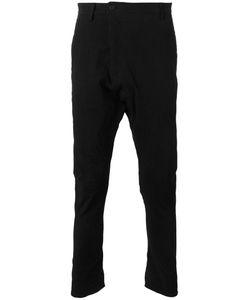 Poème Bohèmien | Poème Bohémien Paneled Trousers 50 Linen/Flax/Viscose/Spandex/Elastane/Cotton