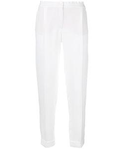 Loro Piana | Slim-Fit Cropped Trousers 42 Silk