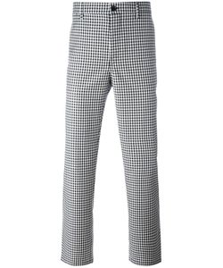 Golden Goose | Deluxe Brand Gingham Check Trousers Small