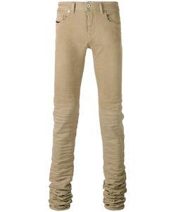 Diesel Black Gold | Long Crumpled Leg Skinny Jeans