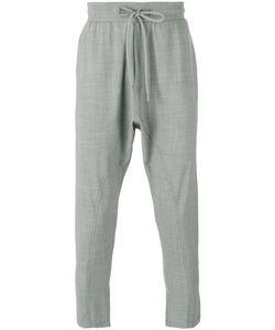 Entre Amis | Drop-Crotch Crop Trousers Size Large