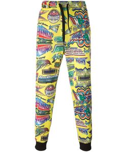 Moschino | Printed Trackpants Small Polyester