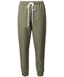 Bassike | Tape Trousers 8 Cotton/Linen/Flax