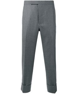 Thom Browne | Cropped Tailored Trousers Size 3