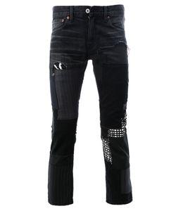 JUNYA WATANABE COMME DES GARCONS | Junya Watanabe Comme Des Garçons Man Pinstripe Cropped Trousers