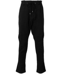 DEVOA | Drawstring Trousers 2 Silk/Linen/Flax/Polyester