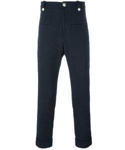 Pierre Balmain | Marin Trousers 46 Cotton/Polyamide/Spandex/Elastane