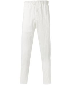 Ann Demeulemeester | Grise Creased Effect Trousers Size Small