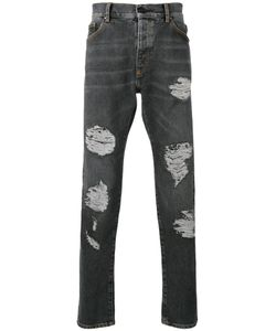 PALM ANGELS | Distressed Jeans 32 Cotton