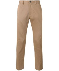PS PAUL SMITH | Ps By Paul Smith Tape Trousers 34 Cotton/Spandex/Elastane