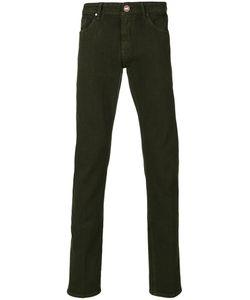 Pt05 | Slim-Fit Roll Up Trousers Men