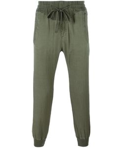 Haider Ackermann | Cropped Tape Track Pants Mens Size Medium Cotton/Rayon