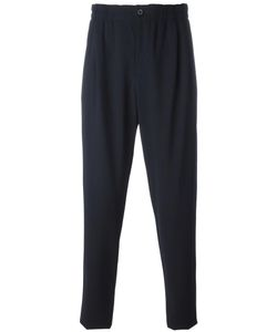 Giorgio Armani | Track Pant Trousers 50 Cotton/Virgin Wool/Spandex/Elastane