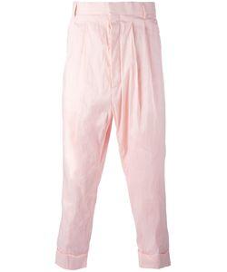 Haider Ackermann | Drop Crotch Trousers 48 Cotton/Rayon/Linen/Flax/Spandex/Elastane