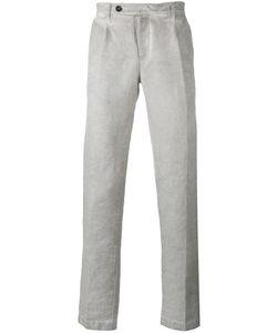 Massimo Alba   Faded Straight-Leg Trousers Size 52
