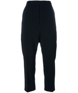 Rick Owens | High Waisted Cropped Trousers 44 Virgin