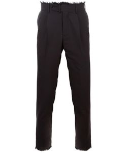 MSGM | Side Stripe Trousers 44 Acetate/Viscose/Virgin Wool/Cotton
