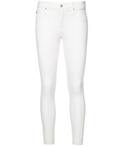 AG JEANS | Cropped Super Skinny Jeans 28 Cotton/Lyocell/Polyester/Polyurethane