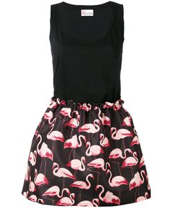 Red Valentino | Flamingo Print Dress Size Small