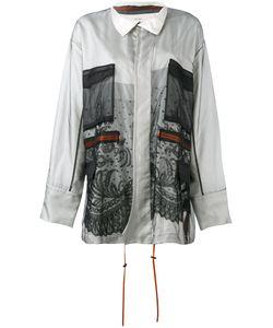 Quetsche | Mesh Detail Jacket Size