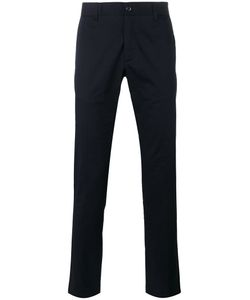 Moncler | Straight Leg Trousers 46 Cotton/Spandex/Elastane
