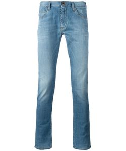 ARMANI JEANS | Washed Skinny Jeans