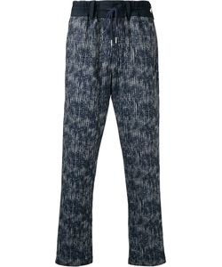 CASELY-HAYFORD | Abstract Print Drawstring Trousers