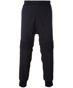 Neil Barrett | Ribbed Knee Track Pants 48 Polyester/Wool/Spandex/Elastane/Cotton