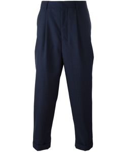 Ami Alexandre Mattiussi | Pleated Trousers 42 Wool