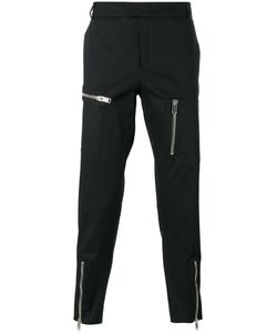 Les Hommes   Multiple Zips Cropped Trousers Size