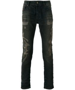 Diesel | Distressed Slim-Fit Jeans Size 33