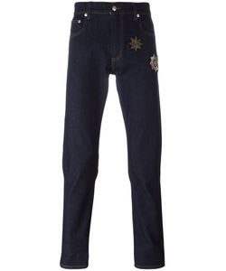 Alexander McQueen | Denim Patch Jeans 50 Cotton/Spandex/Elastane/Copper