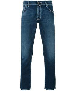Jacob Cohёn | Contrast Stitch Denim Jeans
