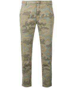 Fay | Camouflage Print Tapered Trousers Size 44
