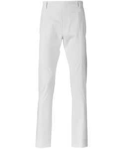 Rick Owens | Slim-Fit Chinos 52 Cotton/Rubber/Cupro