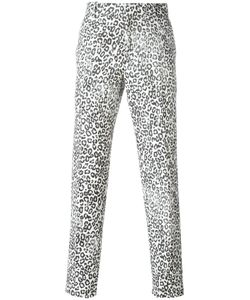 Alexander McQueen | Leopard Print Trousers 50 Wool/Cotton/Polyester/Viscose