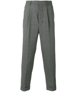 Ami Alexandre Mattiussi | High-Waisted Pleated Trousers Size 38