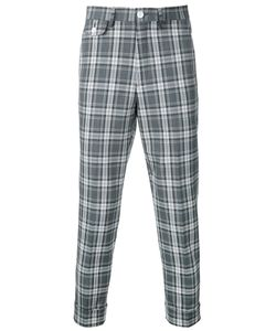 EDUCATION FROM YOUNGMACHINES | Cropped Checked Pants Size 2