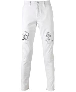 OFF-WHITE | Death And Jill Jeans 31 Cotton/Spandex/Elastane