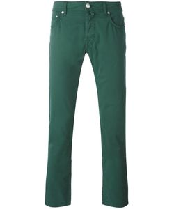 Jacob Cohёn | Jacob Cohen Tape Trousers 38 Cotton/Spandex/Elastane