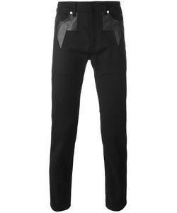 Neil Barrett | Geometric Insert Jeans 34 Cotton/Spandex/Elastane