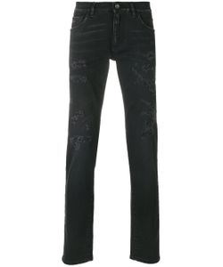Dolce & Gabbana | Distressed Slim-Fit Jeans