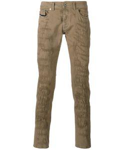 Diesel Black Gold | Distressed Slim-Fit Trousers