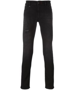 Philipp Plein | Distressed Skinny Jeans 36 Cotton/Spandex/Elastane/Polyester