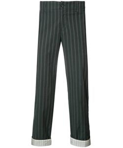 Undercover | Woven Stripe Trousers 4 Cupro/Polyurethane/Cotton
